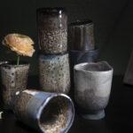Keramikbecher, Keramik, Schweiz, Design, Steinzeug, Glasur, Interior, Siwssmade, Keramik Zürich, Zürich, Kunst, Geschirr, Teller, Schale, Tasse, Dekoration, Pflanzen